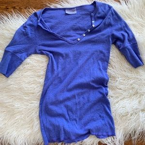 Michael Stars Purple Blue Women's Size OS